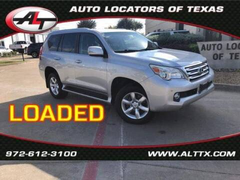 2011 Lexus GX 460 for sale at AUTO LOCATORS OF TEXAS in Plano TX