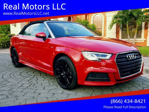 2019 Audi A3 for sale at Real Motors LLC in Clearwater FL