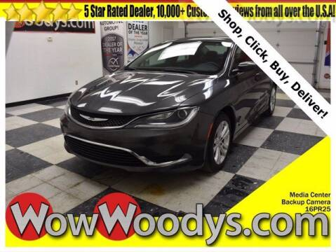 2016 Chrysler 200 for sale at WOODY'S AUTOMOTIVE GROUP in Chillicothe MO