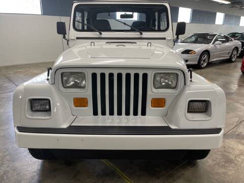 1991 Jeep Wrangler for sale at MICHAEL'S AUTO SALES in Mount Clemens MI