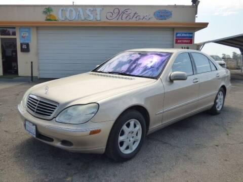 2002 Mercedes-Benz S-Class for sale at Coast Motors in Arroyo Grande CA