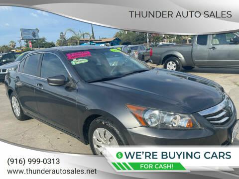 2012 Honda Accord for sale at Thunder Auto Sales in Sacramento CA