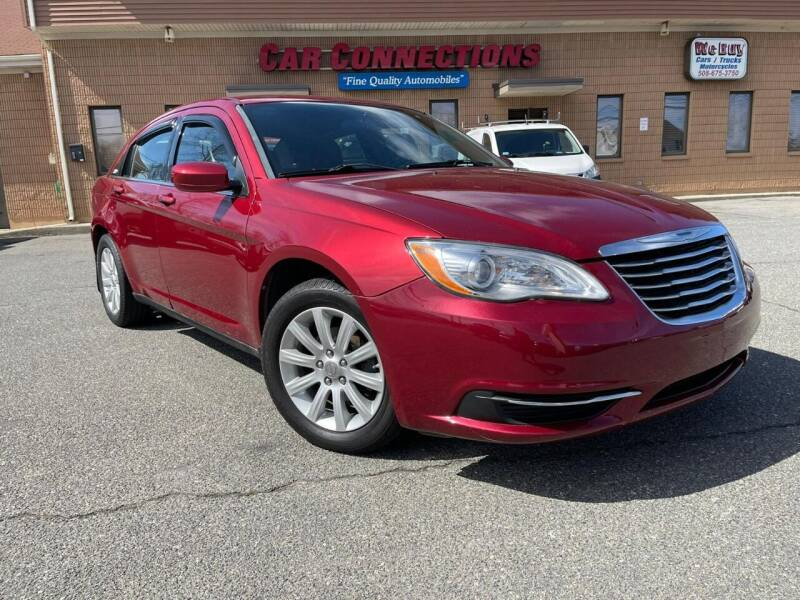 2013 Chrysler 200 for sale at CAR CONNECTIONS in Somerset MA