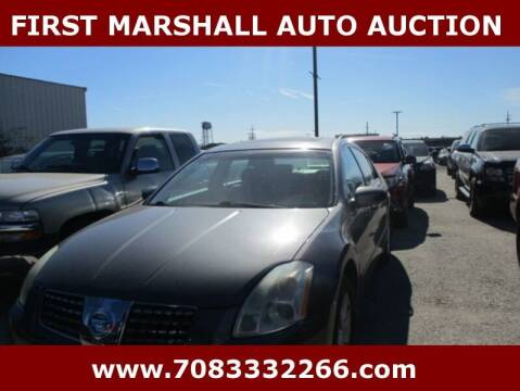 2006 Nissan Maxima for sale at First Marshall Auto Auction in Harvey IL