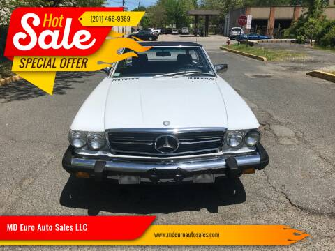 1988 Mercedes-Benz 560-Class for sale at MD Euro Auto Sales LLC in Hasbrouck Heights NJ