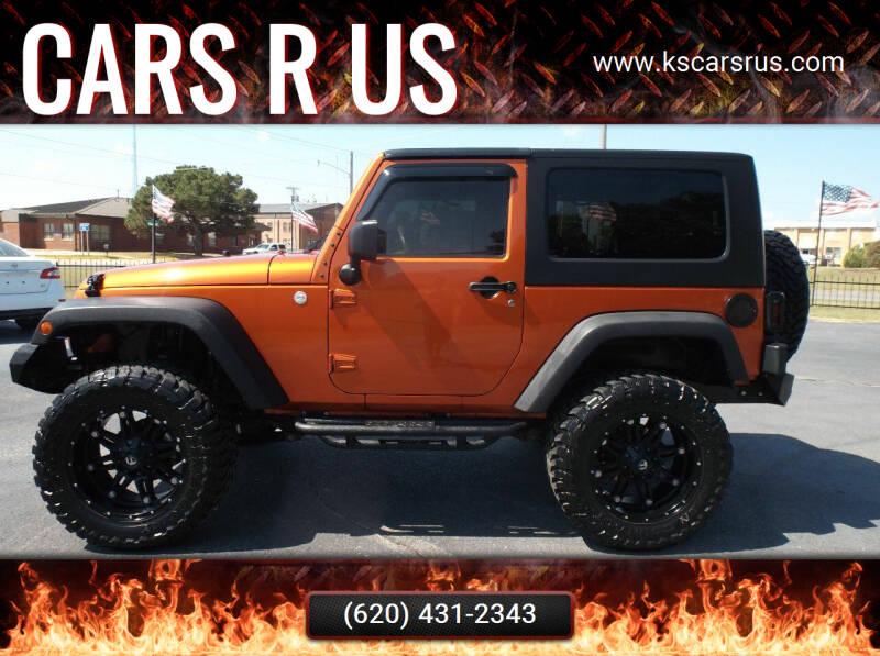 2010 Jeep Wrangler for sale at Cars R Us in Chanute KS