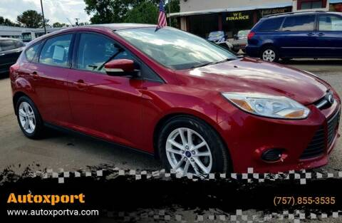 2013 Ford Focus for sale at Autoxport in Newport News VA