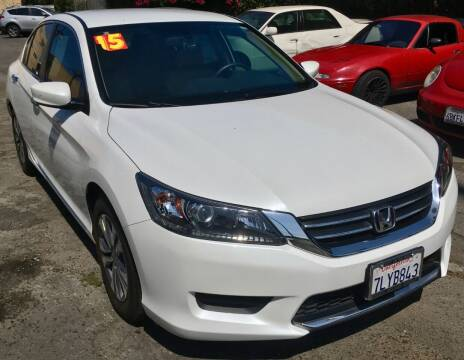 2015 Honda Accord for sale at Eden Motor Group in Los Angeles CA