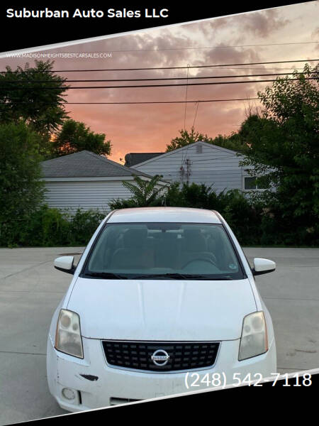 2008 Nissan Sentra for sale at Suburban Auto Sales LLC in Madison Heights MI