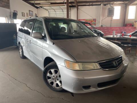 2004 Honda Odyssey for sale at PYRAMID MOTORS - Pueblo Lot in Pueblo CO