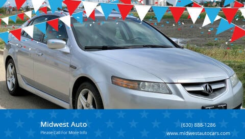 2005 Acura TL for sale at Midwest Auto in Naperville IL