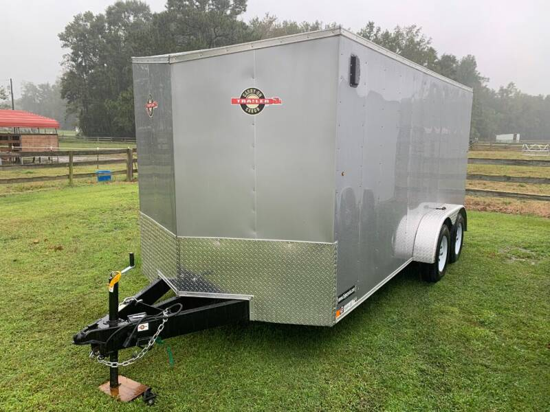 2021 New Carry-On 7x16 CGR Enclosed for sale at Tripp Auto & Cycle Sales Inc in Grimesland NC