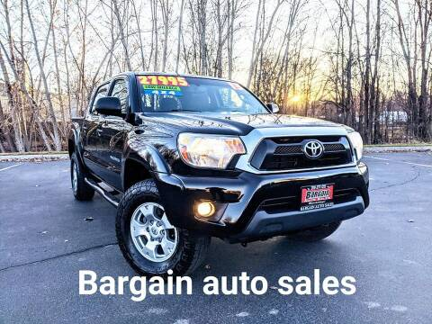 2013 Toyota Tacoma for sale at Bargain Auto Sales LLC in Garden City ID