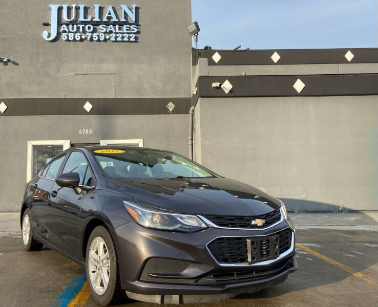 2017 Chevrolet Cruze for sale at Julian Auto Sales, Inc. in Warren MI
