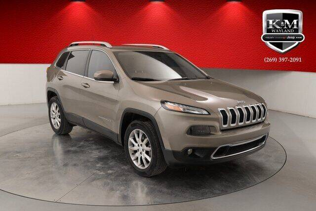 2018 Jeep Cherokee for sale at K&M Wayland Chrysler  Dodge Jeep Ram in Wayland MI