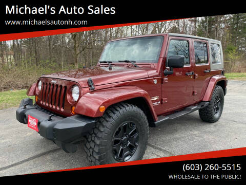 2007 Jeep Wrangler Unlimited for sale at Michael's Auto Sales in Derry NH