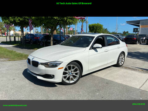 2013 BMW 3 Series for sale at Hi Tech Auto Sales Of Broward in Hollywood FL