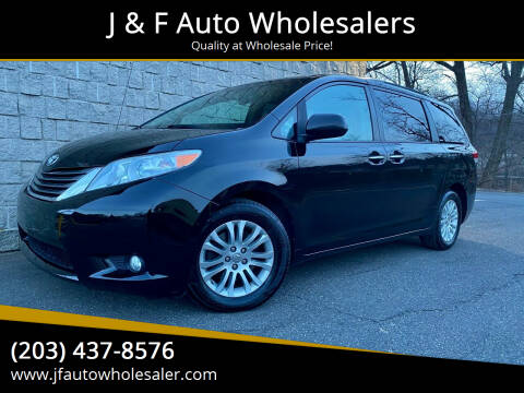 2014 Toyota Sienna for sale at J & F Auto Wholesalers in Waterbury CT