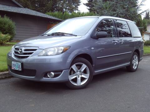 2004 Mazda MPV for sale at Redline Auto Sales in Vancouver WA