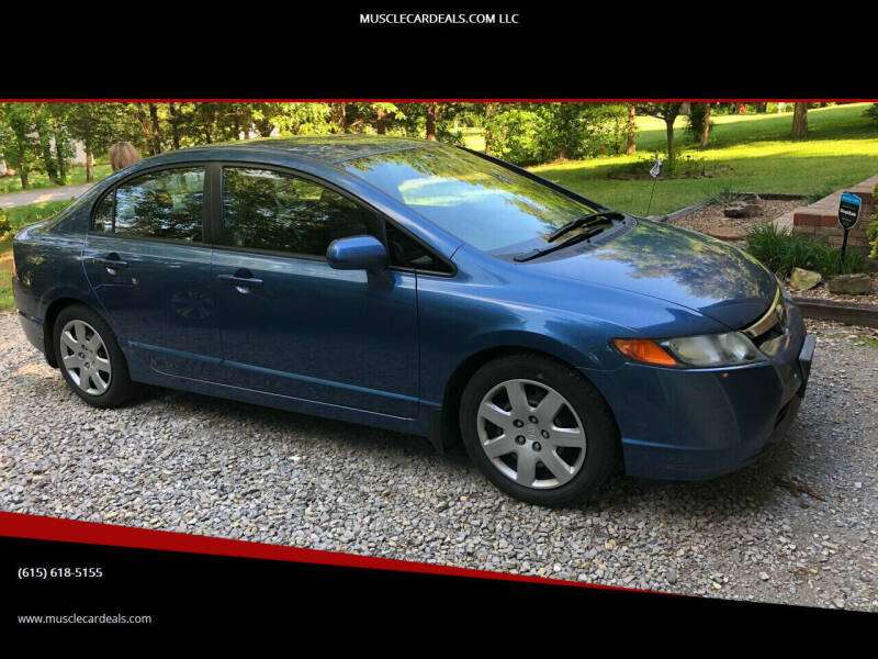 2008 Honda Civic for sale at MUSCLECARDEALS.COM LLC - 4 in White Bluff TN