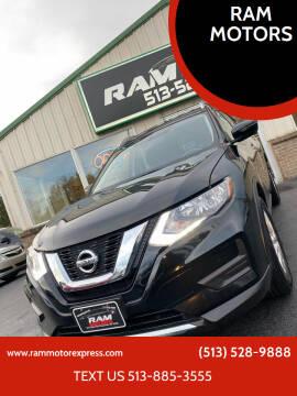 2017 Nissan Rogue for sale at RAM MOTORS in Cincinnati OH