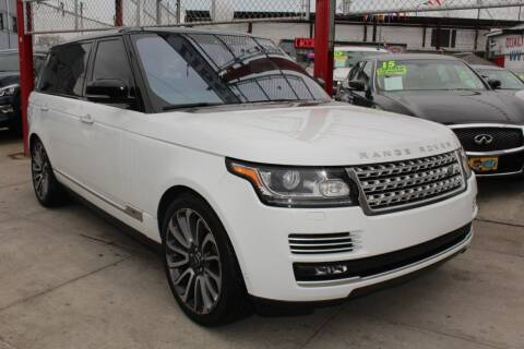 2017 Land Rover Range Rover for sale at LIBERTY AUTOLAND INC in Jamaica NY