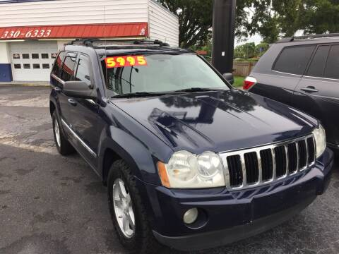 2006 Jeep Grand Cherokee for sale at Regal Cars of Florida-Clearwater Hybrids in Clearwater FL
