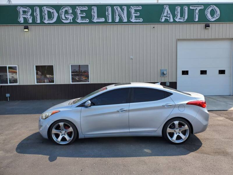 2011 Hyundai Elantra for sale at RIDGELINE AUTO in Chubbuck ID