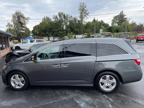 2012 Honda Odyssey for sale at Westside Motors in Mount Vernon WA