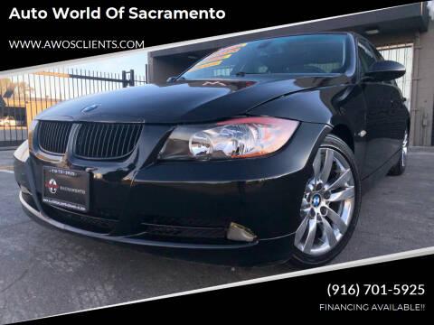 2006 BMW 3 Series for sale at Auto World of Sacramento Stockton Blvd in Sacramento CA
