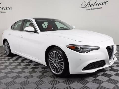 2018 Alfa Romeo Giulia for sale at DeluxeNJ.com in Linden NJ