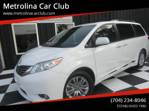 2014 Toyota Sienna for sale at Metrolina Car Club in Matthews NC