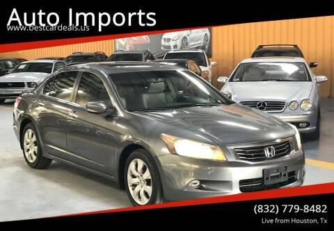 2008 Honda Accord for sale at Auto Imports in Houston TX