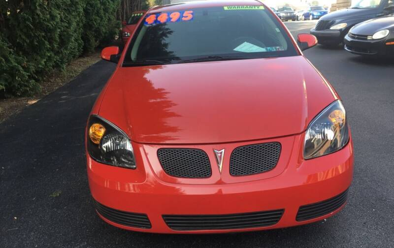 2007 Pontiac G5 for sale at BIRD'S AUTOMOTIVE & CUSTOMS in Ephrata PA