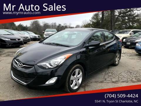 2013 Hyundai Elantra for sale at Mr Auto Sales in Charlotte NC