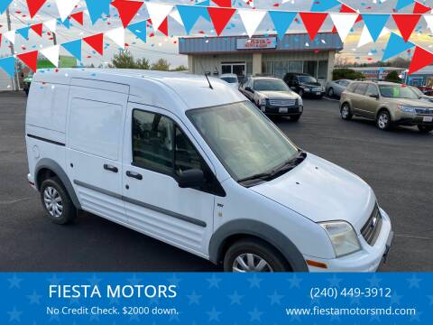 2011 Ford Transit Connect for sale at FIESTA MOTORS in Hagerstown MD