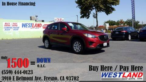 2013 Mazda CX-5 for sale at Westland Auto Sales in Fresno CA
