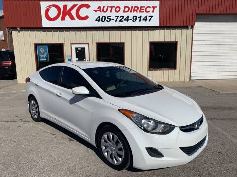 2011 Hyundai Elantra for sale at OKC Auto Direct in Oklahoma City OK