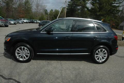 2014 Audi Q5 for sale at Bruce H Richardson Auto Sales in Windham NH