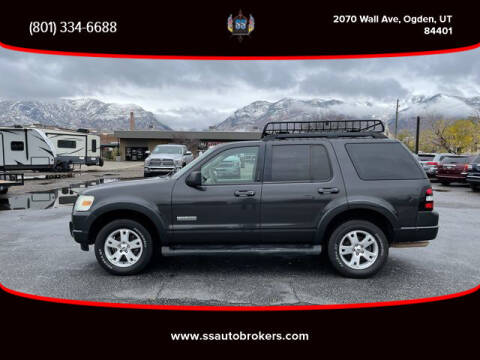 2007 Ford Explorer for sale at S S Auto Brokers in Ogden UT