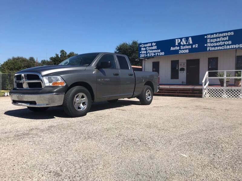 2011 RAM Ram Pickup 1500 for sale at P & A AUTO SALES in Houston TX