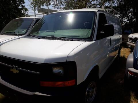 2013 Chevrolet Express Cargo for sale at G & S SALES  CO in Dallas TX