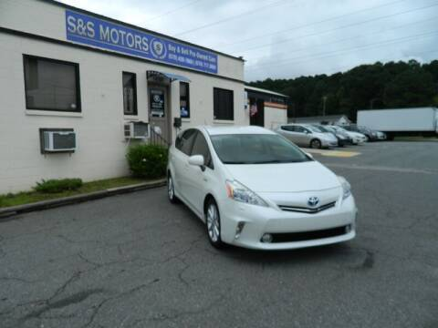 2013 Toyota Prius v for sale at S & S Motors in Marietta GA
