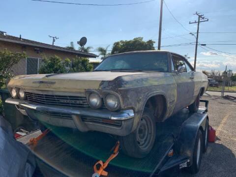 1965 Chevrolet Impala for sale at Haggle Me Classics in Hobart IN
