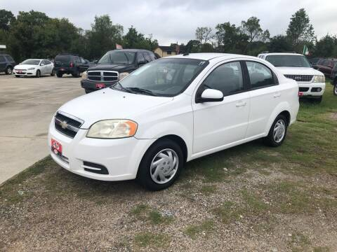 2010 Chevrolet Aveo for sale at FREDY CARS FOR LESS in Houston TX
