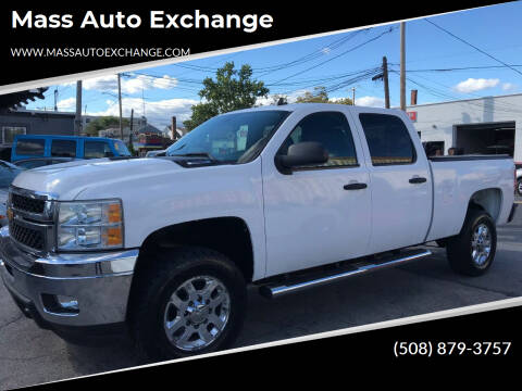 2011 Chevrolet Silverado 2500HD for sale at Mass Auto Exchange in Framingham MA