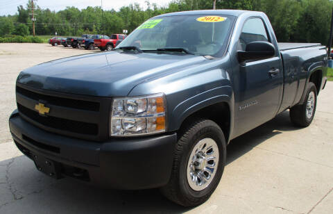 2012 Chevrolet Silverado 1500 for sale at LOT OF DEALS, LLC in Oconto Falls WI
