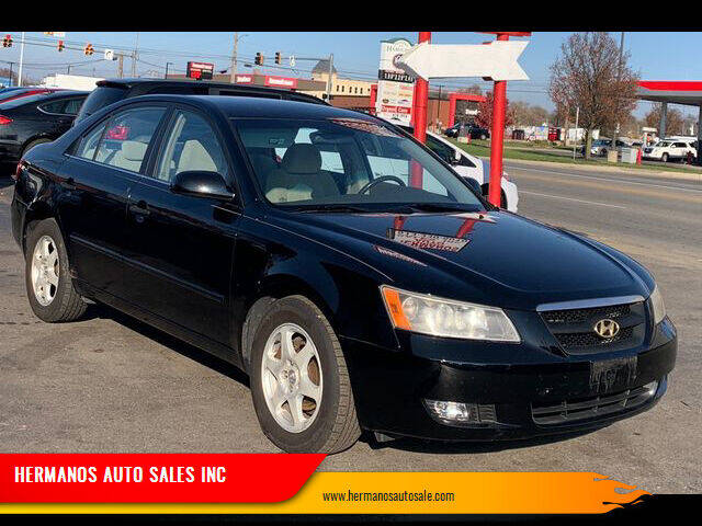 2006 Hyundai Sonata for sale at HERMANOS AUTO SALES INC in Hamilton OH