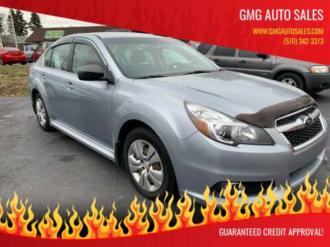 2013 Subaru Legacy for sale at GMG AUTO SALES in Scranton PA