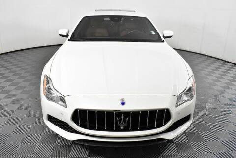 2017 Maserati Quattroporte for sale at Southern Auto Solutions-Jim Ellis Mazda Atlanta in Marietta GA